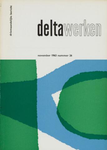 Driemaandelijks bericht Deltawerken 1963-11-01