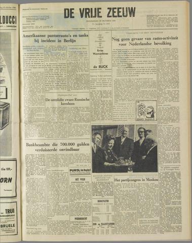 de Vrije Zeeuw 1961-10-26