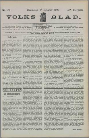 Volksblad 1922-10-18