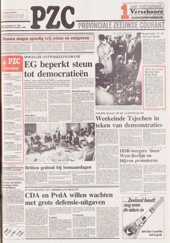 Provinciale Zeeuwse Courant 1989-11-20