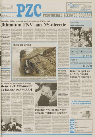 Provinciale Zeeuwse Courant 1991-09-14