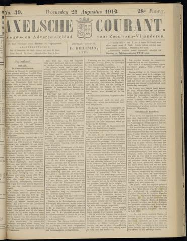 Axelsche Courant 1912-08-21