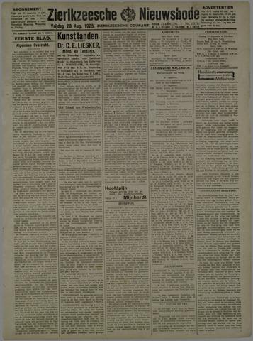 Zierikzeesche Nieuwsbode 1925-08-28