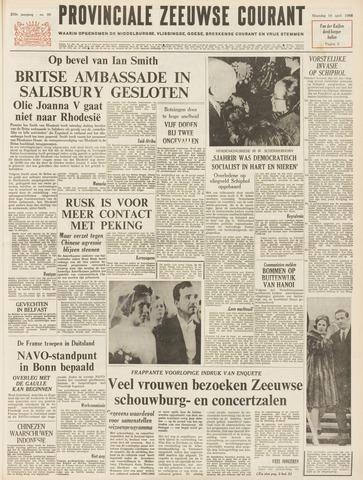 Provinciale Zeeuwse Courant 1966-04-18