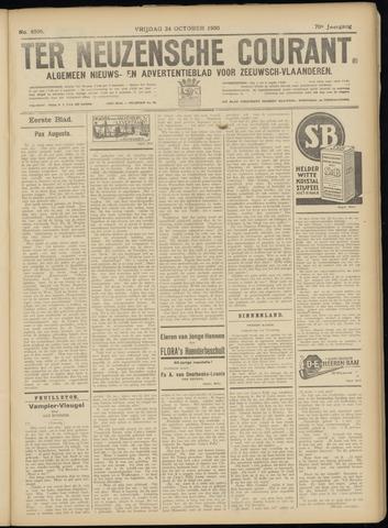 Ter Neuzensche Courant. Algemeen Nieuws- en Advertentieblad voor Zeeuwsch-Vlaanderen / Neuzensche Courant ... (idem) / (Algemeen) nieuws en advertentieblad voor Zeeuwsch-Vlaanderen 1930-10-24