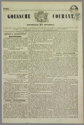 Goessche Courant 1853-11-24