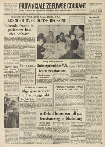 Provinciale Zeeuwse Courant 1961-10-21