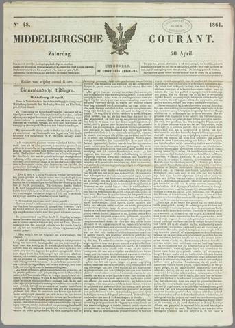 Middelburgsche Courant 1861-04-20