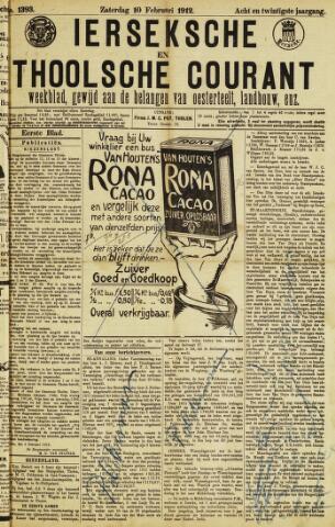 Ierseksche en Thoolsche Courant 1912-02-10