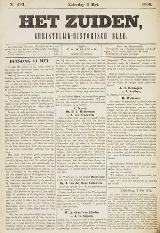 Het Zuiden, Christelijk-historisch blad 1880-05-08