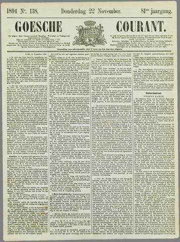 Goessche Courant 1894-11-22