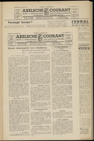 Axelsche Courant 1952-10-01