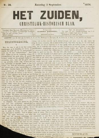 Het Zuiden, Christelijk-historisch blad 1876-09-02