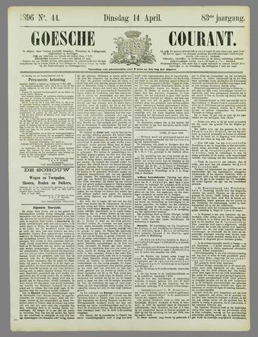 Goessche Courant 1896-04-14