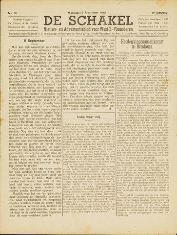 De Schakel 1945-09-17