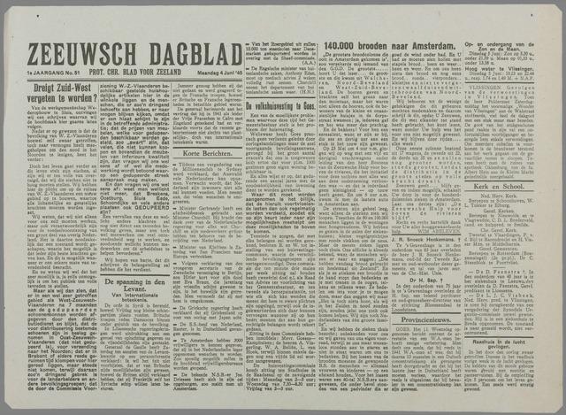 Zeeuwsch Dagblad 1945-06-04