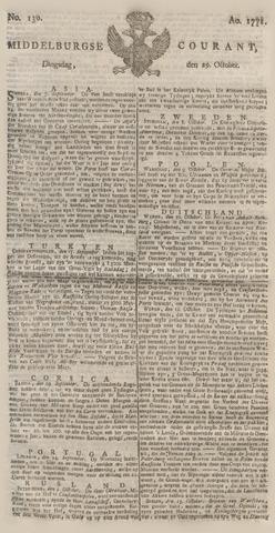 Middelburgsche Courant 1771-10-29