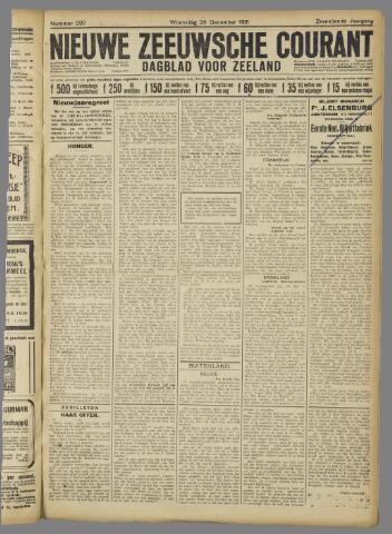 Nieuwe Zeeuwsche Courant 1921-12-28