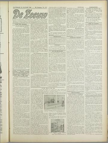 De Zeeuw. Christelijk-historisch nieuwsblad voor Zeeland 1944-01-29