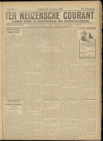 Ter Neuzensche Courant. Algemeen Nieuws- en Advertentieblad voor Zeeuwsch-Vlaanderen / Neuzensche Courant ... (idem) / (Algemeen) nieuws en advertentieblad voor Zeeuwsch-Vlaanderen 1927-08-26