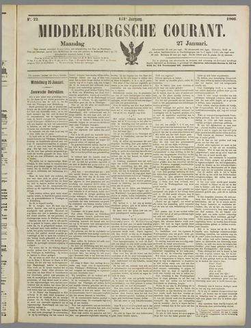 Middelburgsche Courant 1908-01-27
