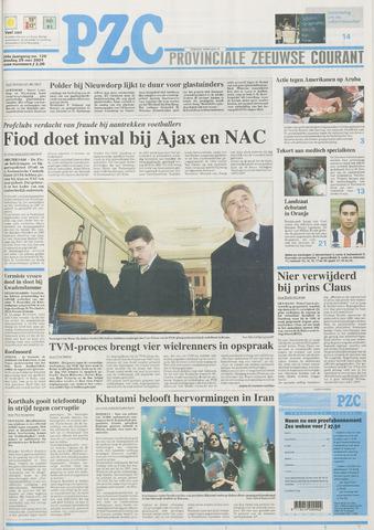 Provinciale Zeeuwse Courant 2001-05-29