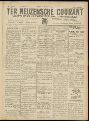 Ter Neuzensche Courant. Algemeen Nieuws- en Advertentieblad voor Zeeuwsch-Vlaanderen / Neuzensche Courant ... (idem) / (Algemeen) nieuws en advertentieblad voor Zeeuwsch-Vlaanderen 1938-06-17