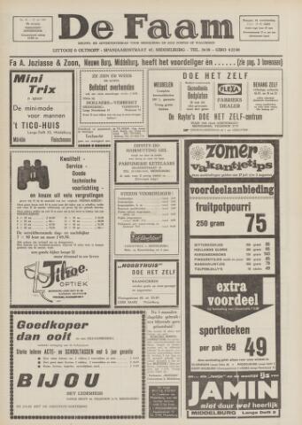 de Faam en de Faam/de Vlissinger 1967-07-27