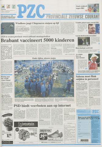 Provinciale Zeeuwse Courant 2001-08-08