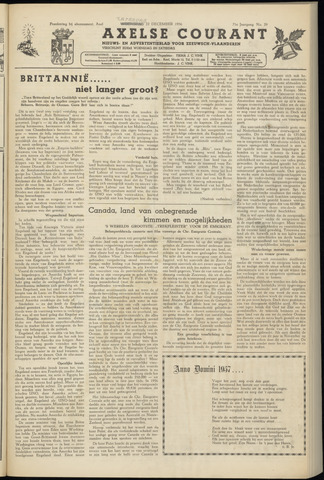 Axelsche Courant 1956-12-22