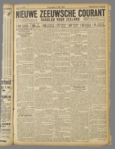Nieuwe Zeeuwsche Courant 1923-05-03