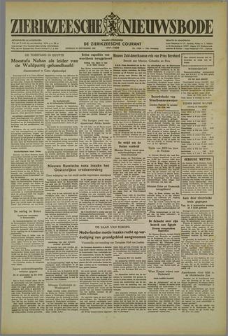 Zierikzeesche Nieuwsbode 1952-09-30