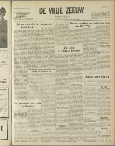de Vrije Zeeuw 1958-04-23