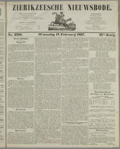 Zierikzeesche Nieuwsbode 1867-02-13