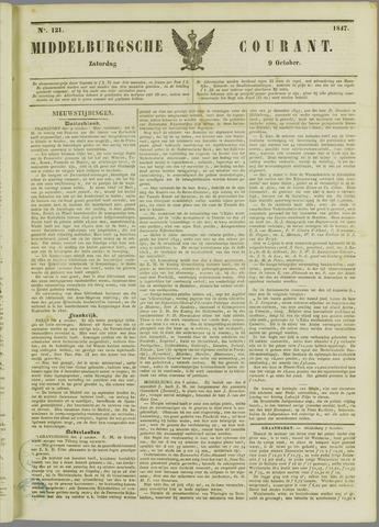Middelburgsche Courant 1847-10-09