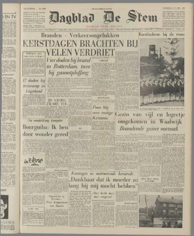 de Stem 1962-12-27