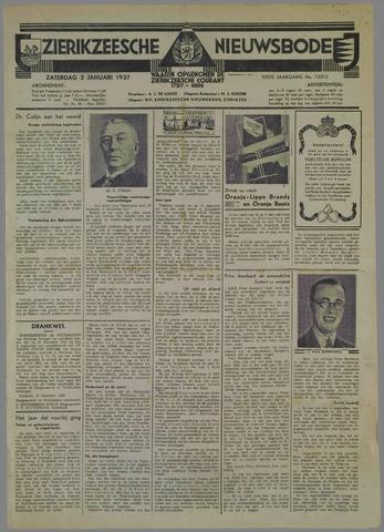 Zierikzeesche Nieuwsbode 1937-01-01