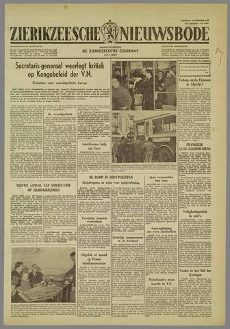 Zierikzeesche Nieuwsbode 1960-10-18