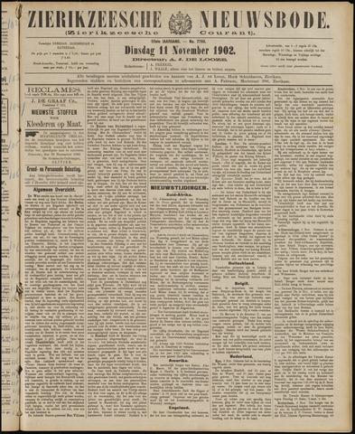 Zierikzeesche Nieuwsbode 1902-11-11