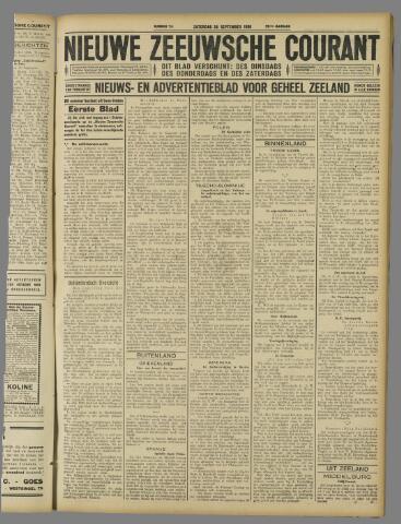 Nieuwe Zeeuwsche Courant 1926-09-25