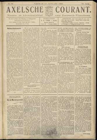 Axelsche Courant 1937-01-15