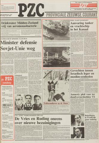 Provinciale Zeeuwse Courant 1987-06-01