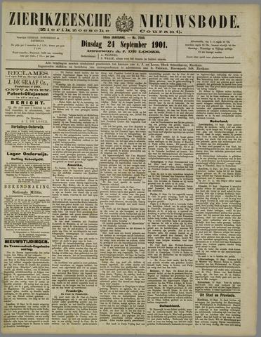 Zierikzeesche Nieuwsbode 1901-09-24