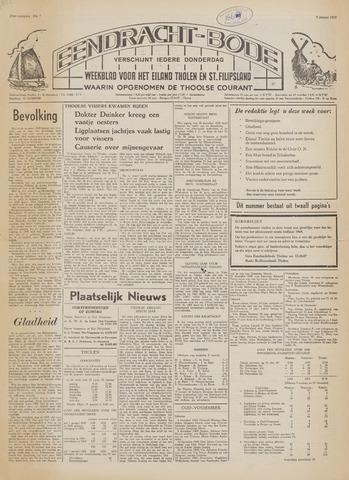 Eendrachtbode (1945-heden)/Mededeelingenblad voor het eiland Tholen (1944/45) 1969-01-09
