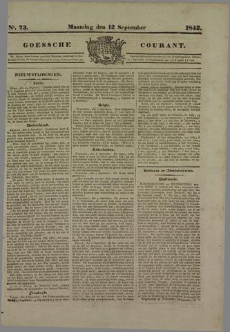 Goessche Courant 1842-09-12