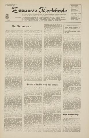 Zeeuwsche kerkbode, weekblad gewijd aan de belangen der gereformeerde kerken/ Zeeuwsch kerkblad 1964-02-14
