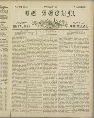 De Zeeuw. Christelijk-historisch nieuwsblad voor Zeeland 1902-07-01