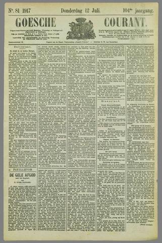 Goessche Courant 1917-07-12
