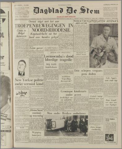 de Stem 1961-02-25