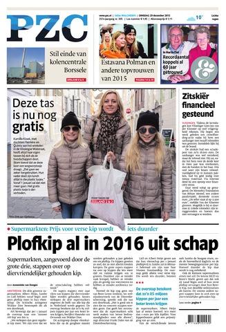 Provinciale Zeeuwse Courant 2015-12-29